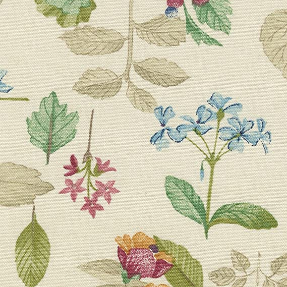 Longaberger SS TV Time Basket Botanical Fields Fabric OE Liner W Ties Fits all