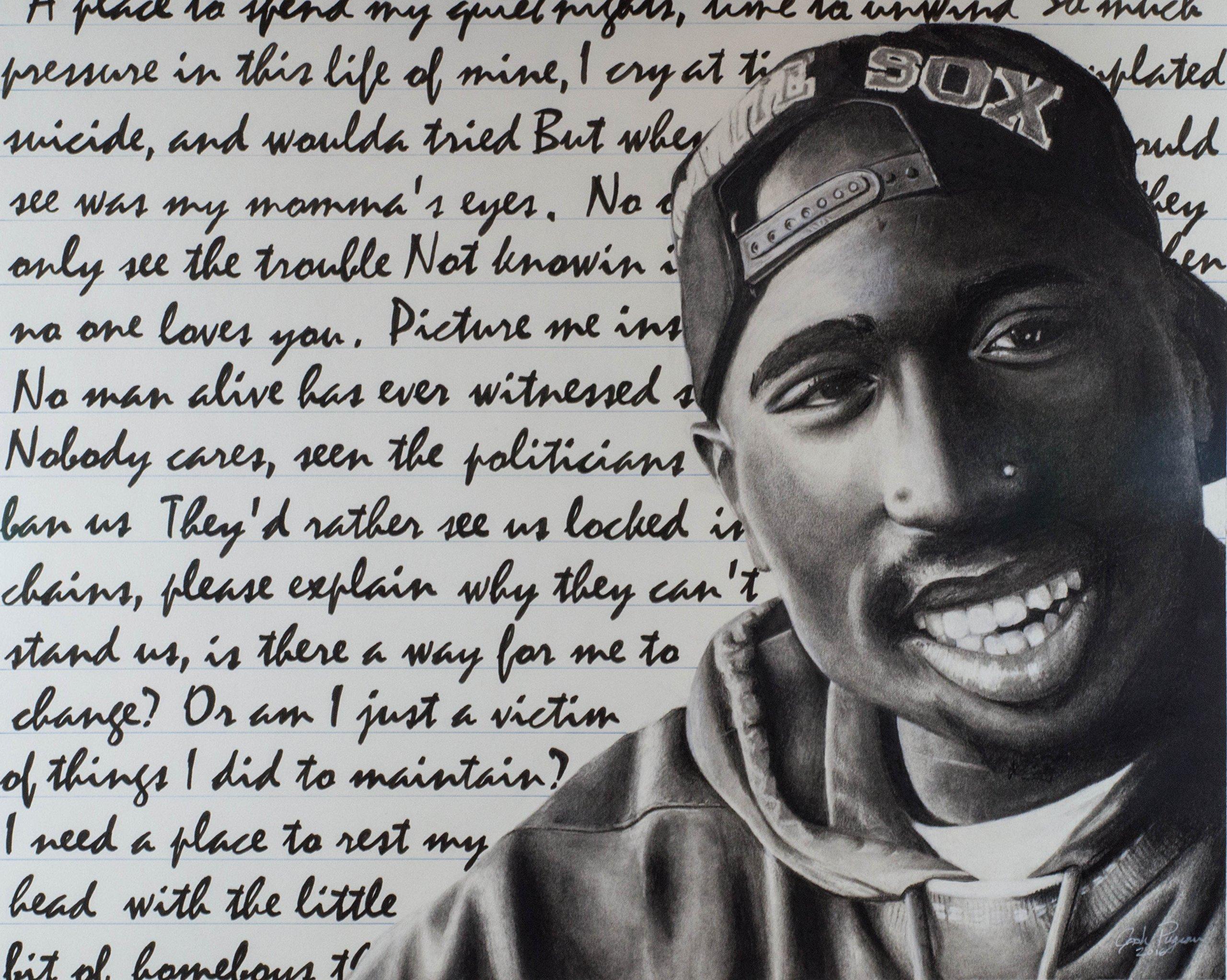 Tupac, Original and Prints, 16X20