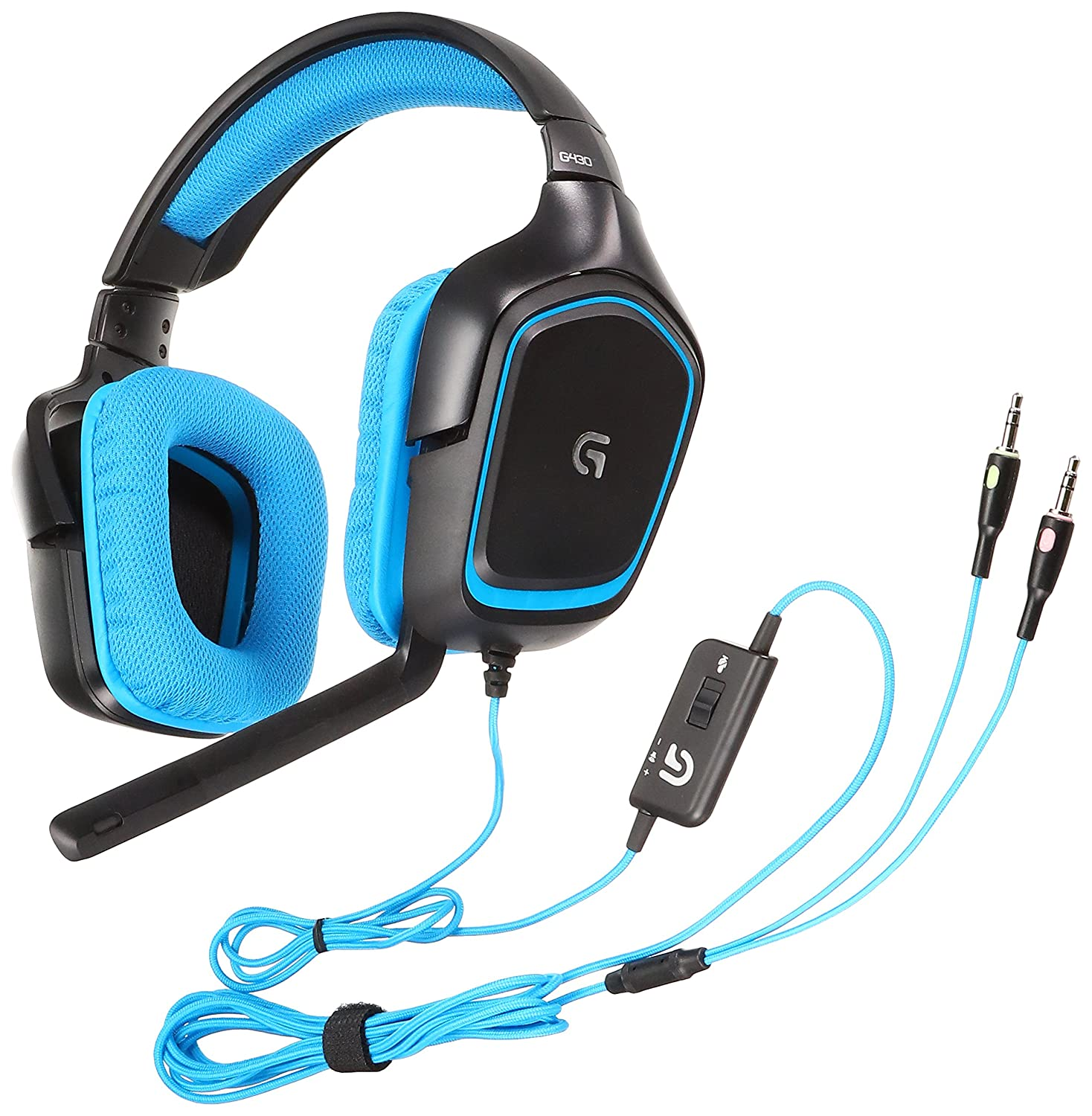 ebdfa1bf179 Amazon.com: LOGICOOL earpads for Surround Sound Gaming Headset G430:  Computers & Accessories