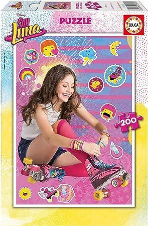 Soy Luna- peliculas y TV Puzzle de 200 Piezas, Color, 1 x 200 (Educa Borrás 16808): Amazon.es: Juguetes y juegos