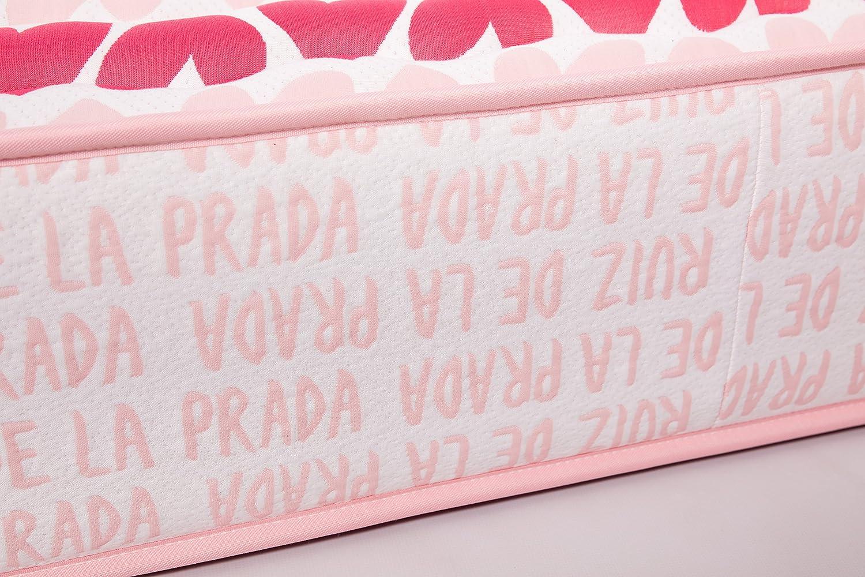 Agatha Ruiz de la Prada Colchón Viscoelástico 190x180x25: Amazon.es: Hogar