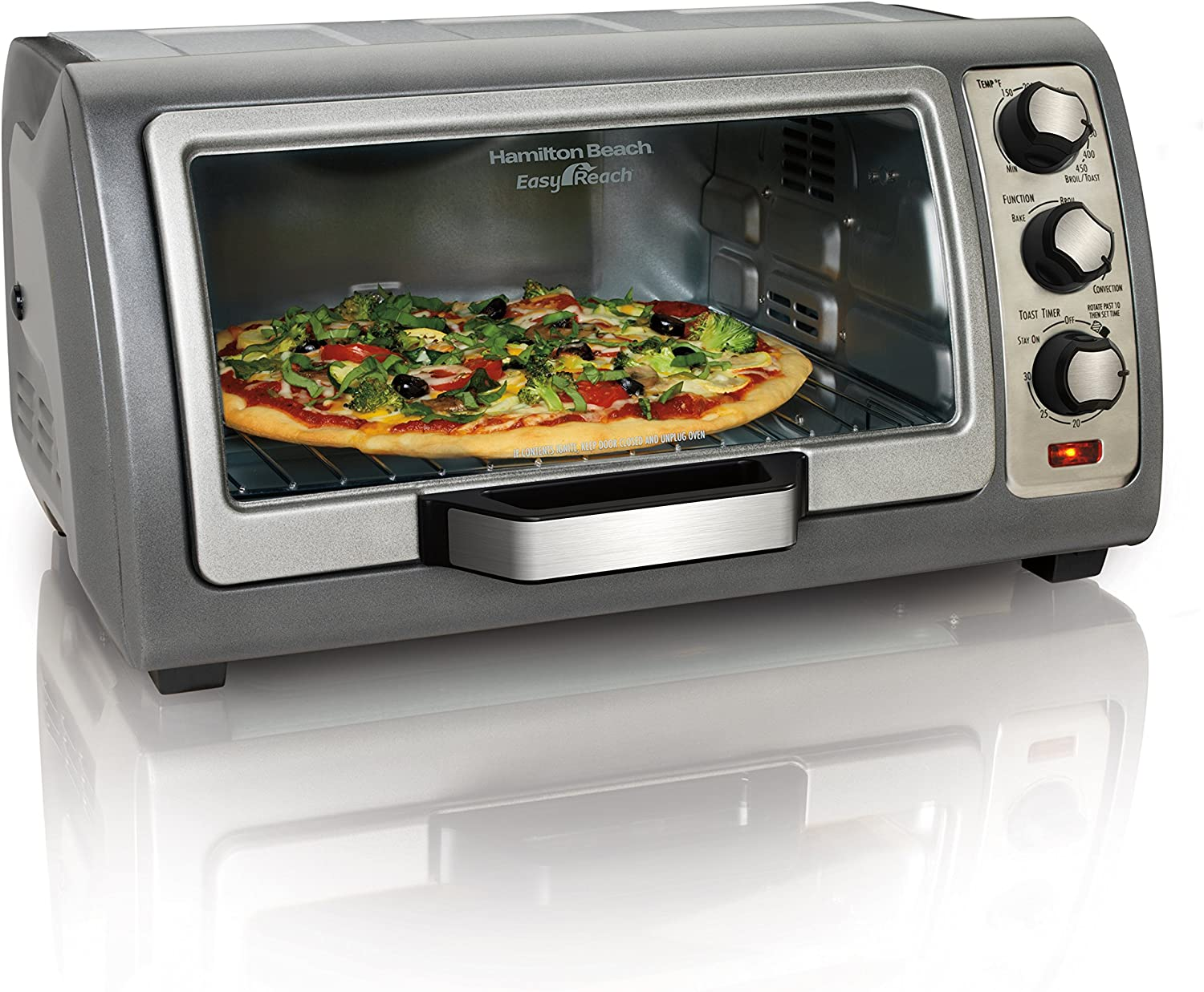 Hamilton Beach 31126 Toaster Oven, Convection Oven, Easy Reach