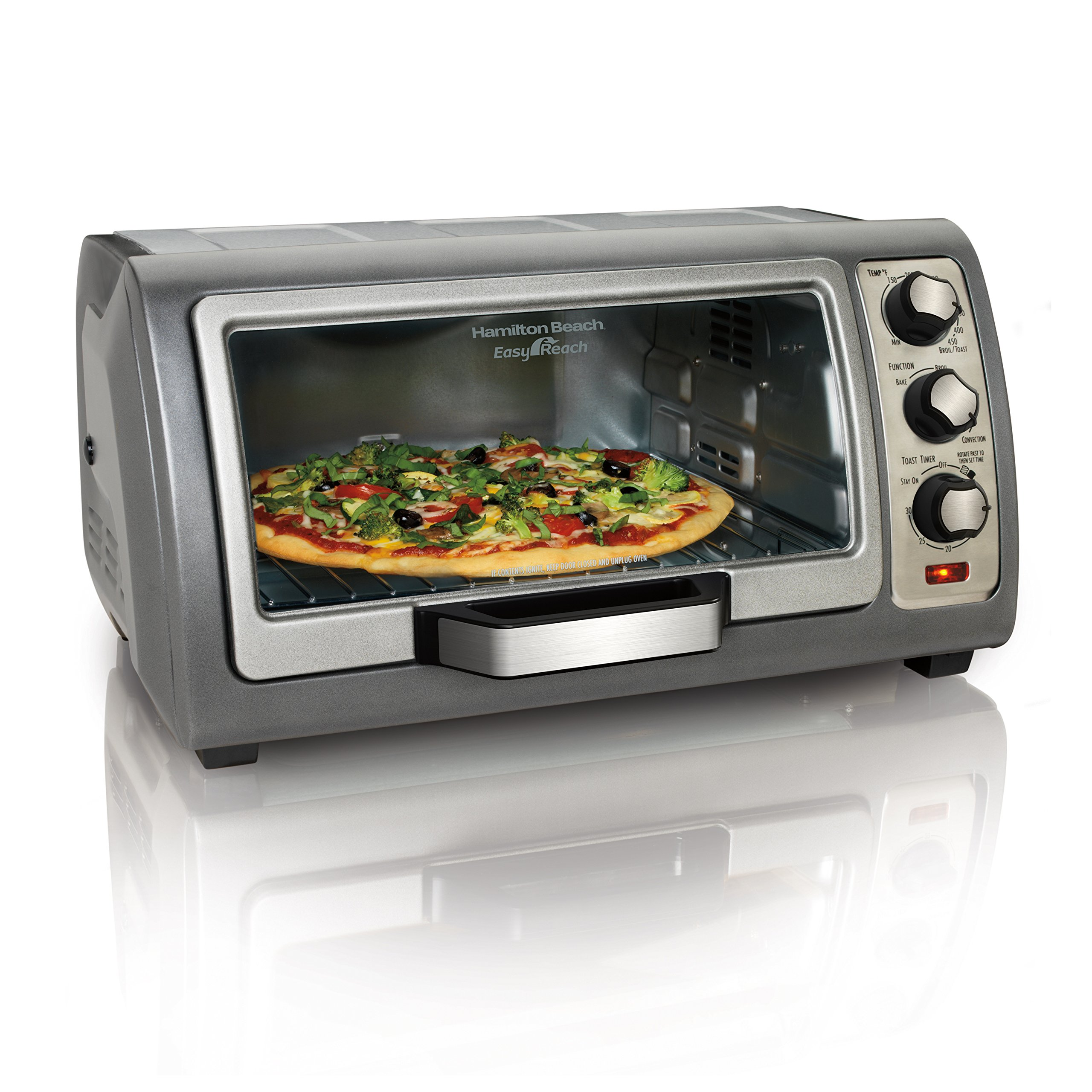 Hamilton Beach (31126) Toaster Oven, Convection Oven, Easy Reach by Hamilton Beach