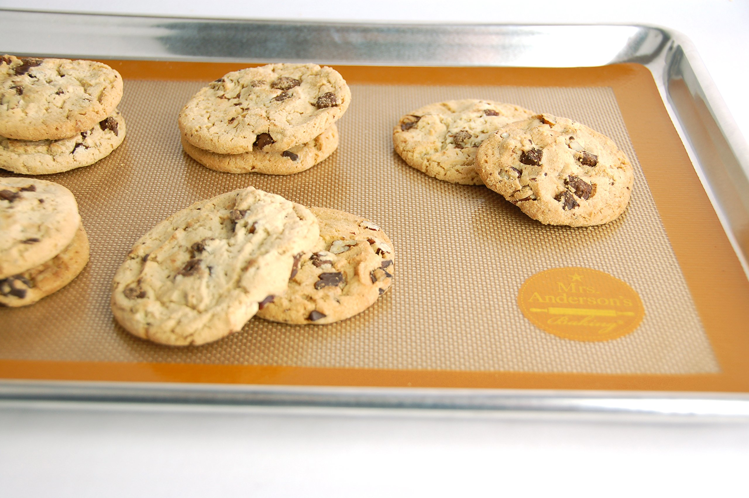 Mrs. Anderson's Baking Non-Stick Silicone Half-Size Baking Mat, 11.625-Inch x 16.5-Inch, Set of 2 by Mrs. Anderson's Baking (Image #4)