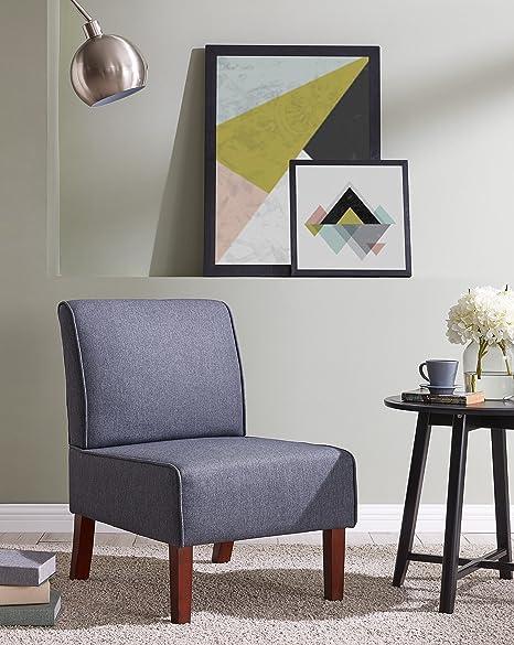 Amazon.com: EBS My muebles sin reposabrazos silla de acento ...