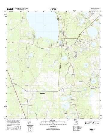 Melrose Florida Map.Amazon Com Topographic Map Poster Melrose Fl Tnm Geopdf 7 5x7 5