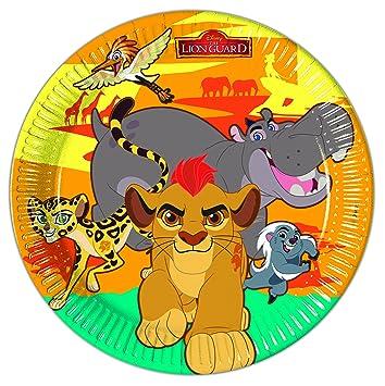 8 Platos EL REY LEÓN de Disney para Cumpleaños niños o ...