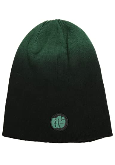 Amazon.com  FunComInc Marvel Hulk Dip Dyed Slouch Knit Men s Winter Hat -  ST  Sports   Outdoors abd5b54d97c