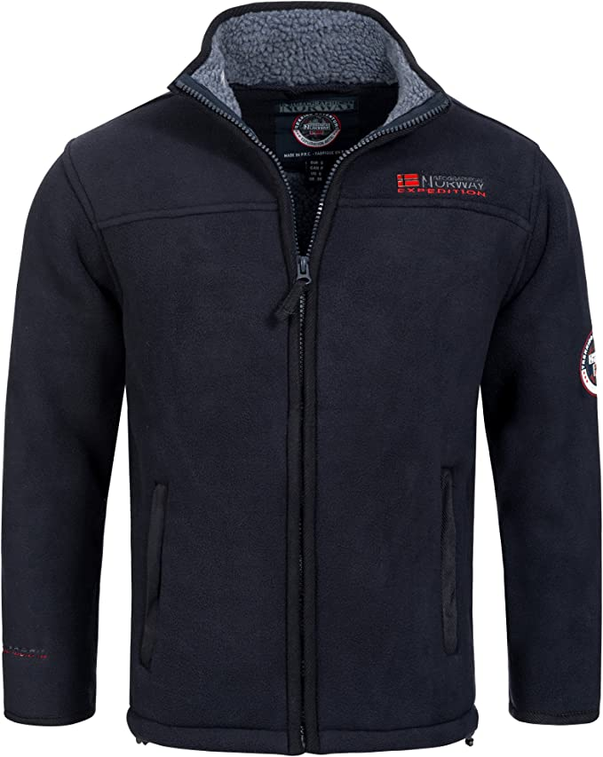 winter fleece jacke geographical norway