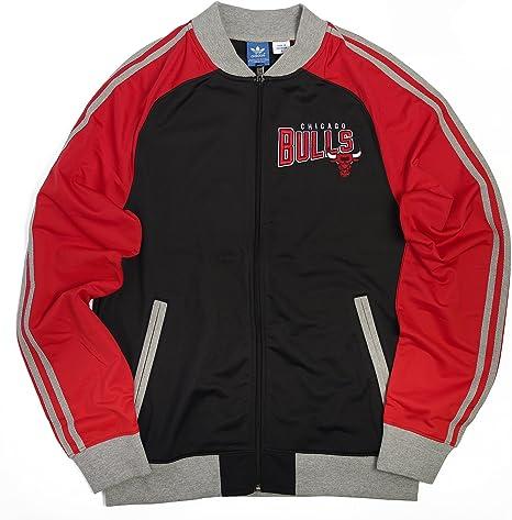adidas Chicago Bulls NBA – Chaqueta de chándal para Hombre, Hombre ...