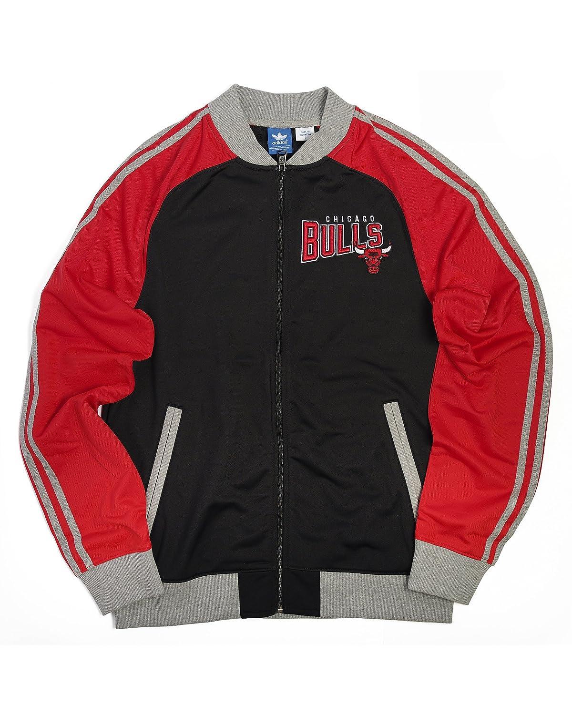 adidas Chicago Bulls NBA - Chaqueta de chándal para Hombre, Hombre ...