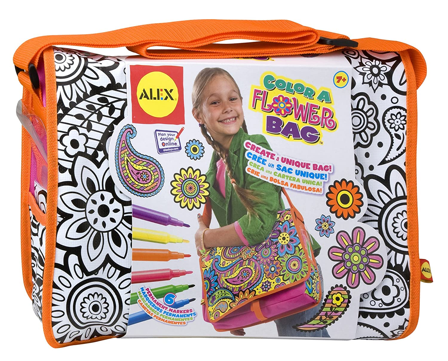 buy alex toys color a flower bag online at low prices in india