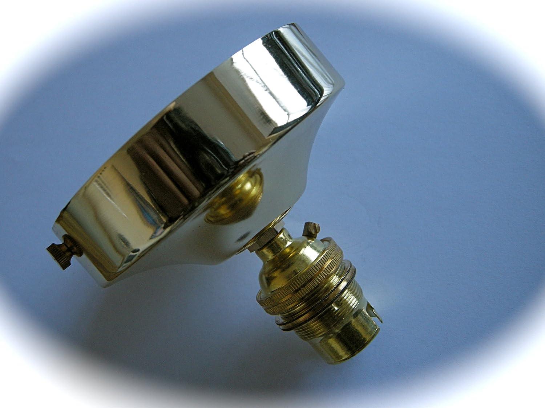 Deckenrosette Für Kronleuchter ~ 003 kronleuchter messing finish deckenrosette lampe und halter mit