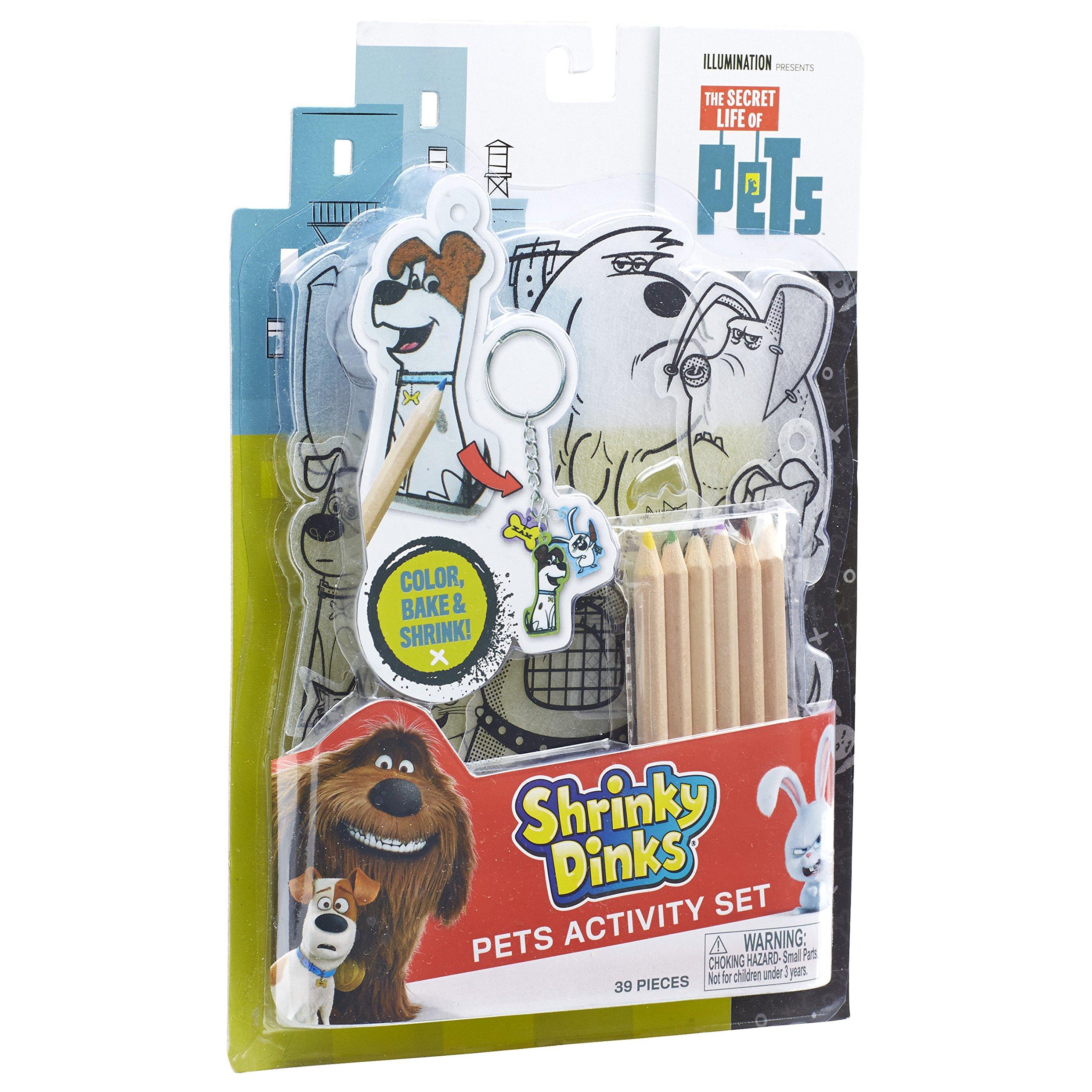 ALEX Toys The Secret Life of Pets Shrinky Dinks Activity Set