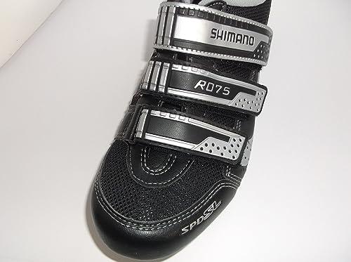 E Road Sh itScarpe Shimano R075 ShoeUomoBlacksilverAmazon Borse FK1lJc