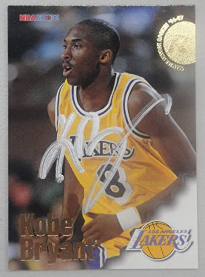 199697 Hoops Kobe Bryant Hand Signed Autographed La Lakers