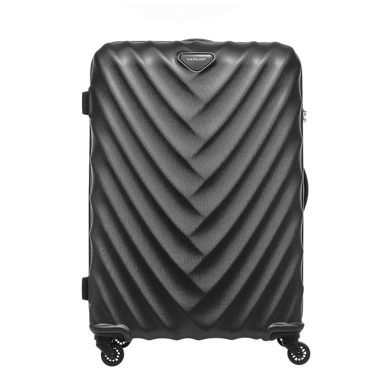 [カメレオン] スーツケース 公式 アレカ Spinner 78/29 TSA  98L 78cm 4.9kg 119557 B07PP77JLG ブラック