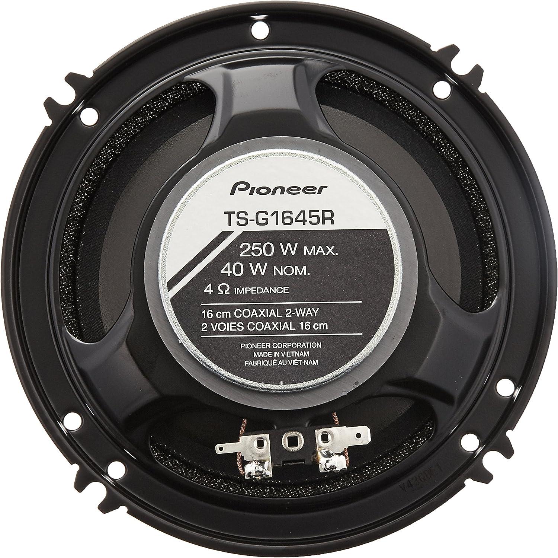 Pioneer TS-G1645R 6.5 Inch 2-Way G-Series Coaxial Car Speakers