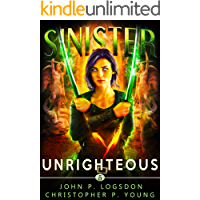 Sinister: Unrighteous (Black Ops Paranormal Police Department Book 5) book cover
