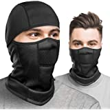 Balaclava Face Mask, Black Ski Mask for Men Women, Ninja Mask, Winter Face Mask - Windproof, Breathable Warm Gaiter for…
