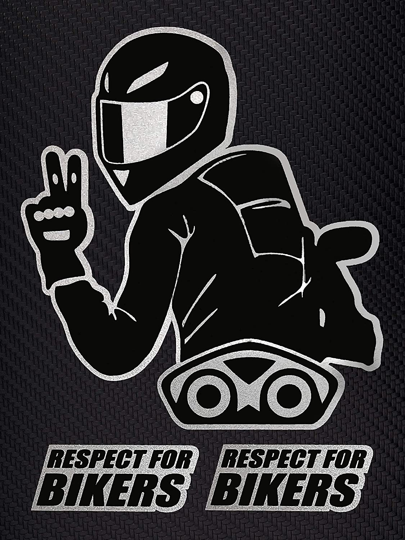 Quattroerre 6341/Sticker Respect for Biker