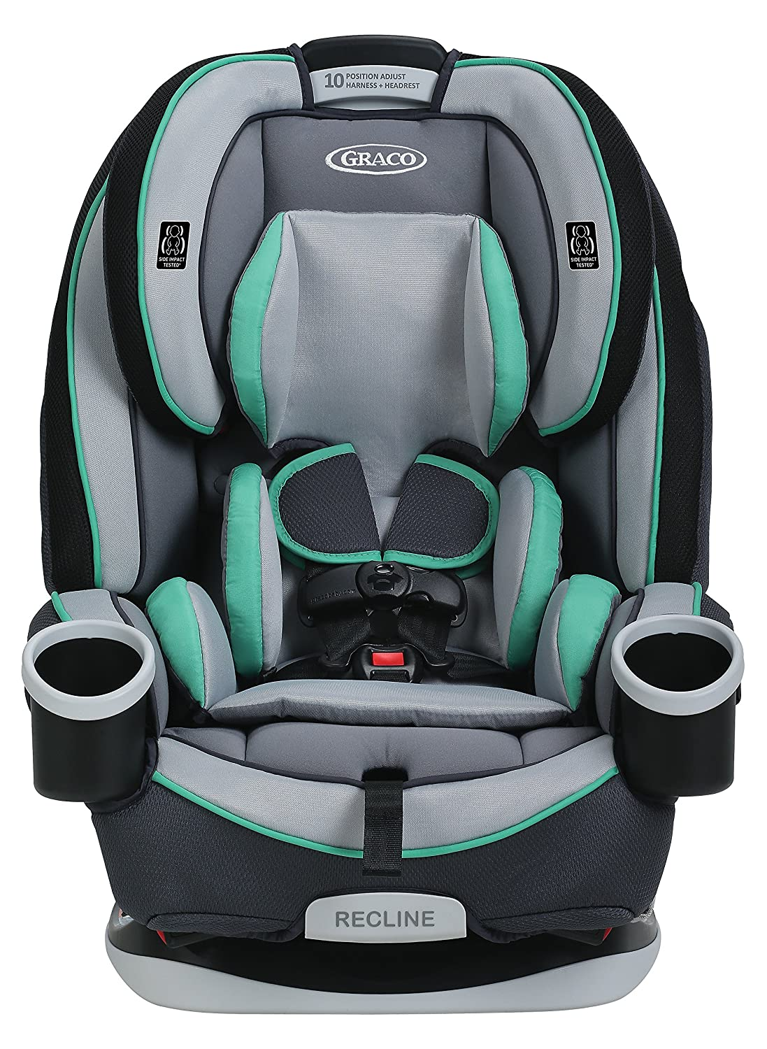 Amazon.com : Graco 4Ever 4-in-1 Convertible Car Seat, Basin, One ...