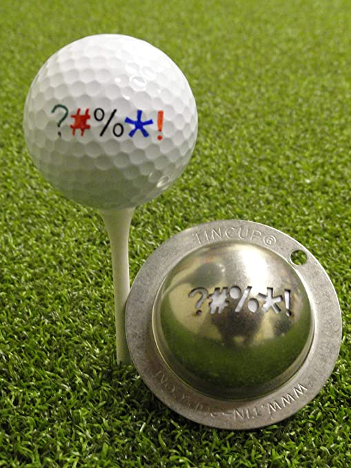 Tin Cup Unisex S Out Of Out Of Bounds Golf Ball Marker