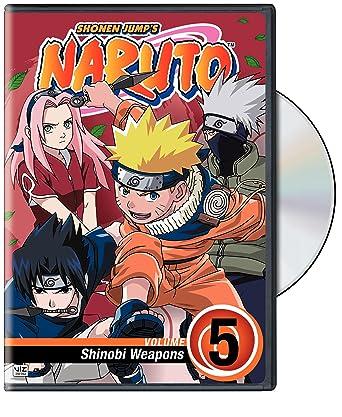 Amazon.com: Naruto, Vol. 5 - Shinobi Weapons: Tony Beck ...