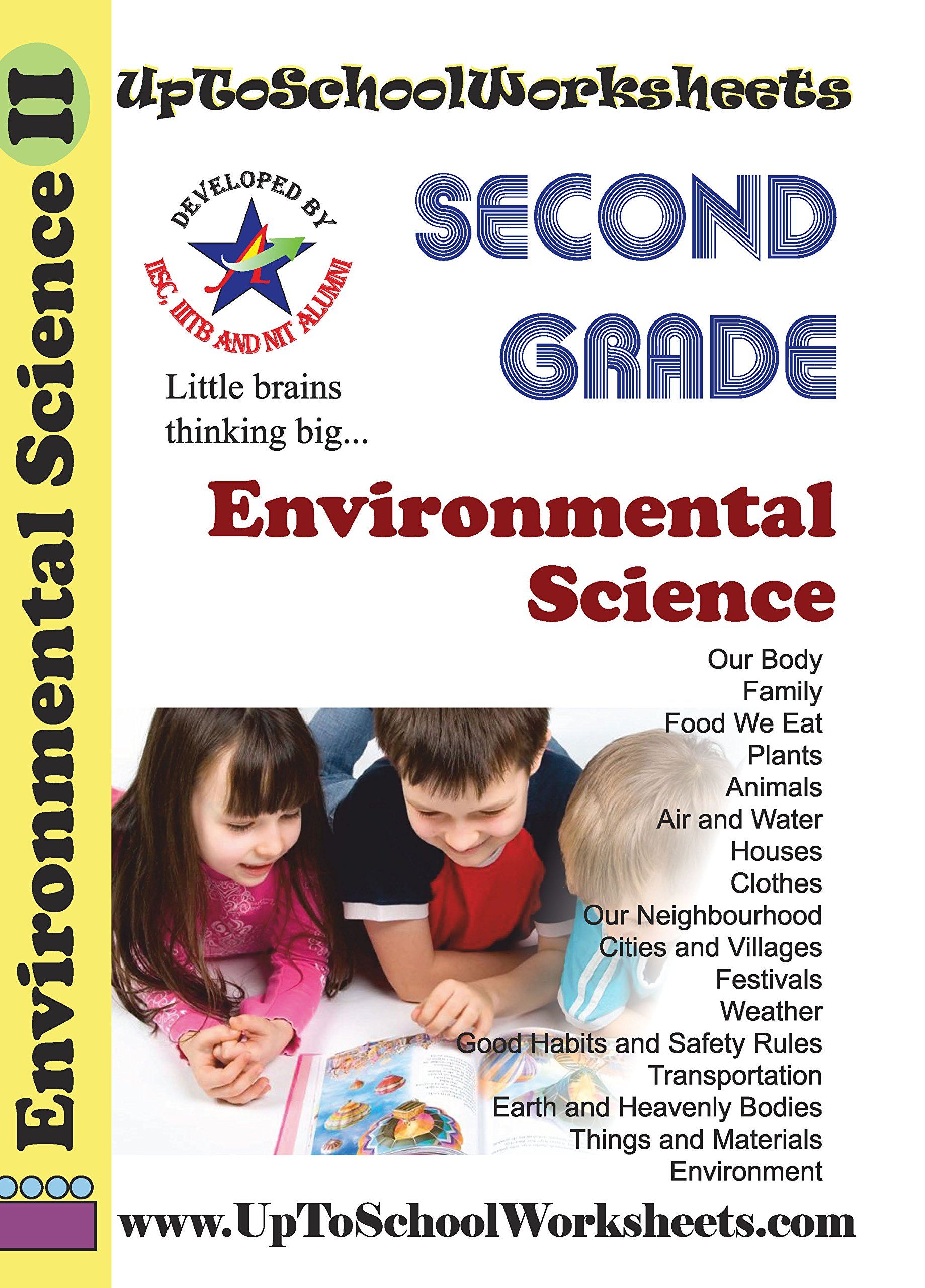 Class 2 Environment Science Worksheets Workbook Cbse Icse With Answer Key Amazon In Uptoschoolworksheets Books
