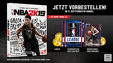 NBA 2K19 Standard Edition - Nintendo Switch [Importación alemana ...