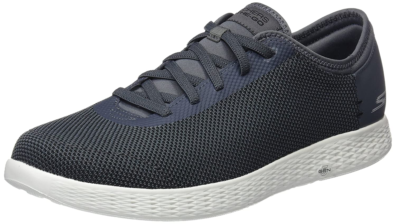 TALLA 44.5 EU. Skechers On-The-go Glide-Effusive, Zapatillas para Hombre, Gris (Charcoal), 44.5 EU