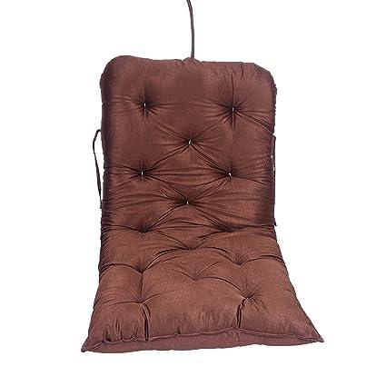 Aashi Enterprise Cotton Cushioned Swing, Brown
