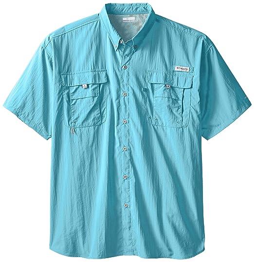 c2af3d2d1c2f78 Amazon.com  Columbia Men s PFG Bahama II Short Sleeve Shirt - Big ...