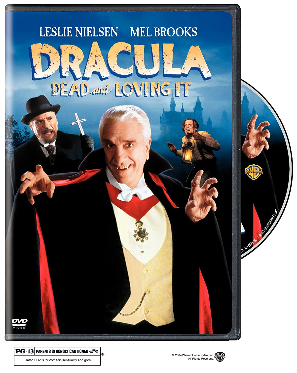 Dracula: Dead And Loving It (Sous-titres franais) Clive Revill Peter Mac Nicol Lysette Anthony Harvey Korman