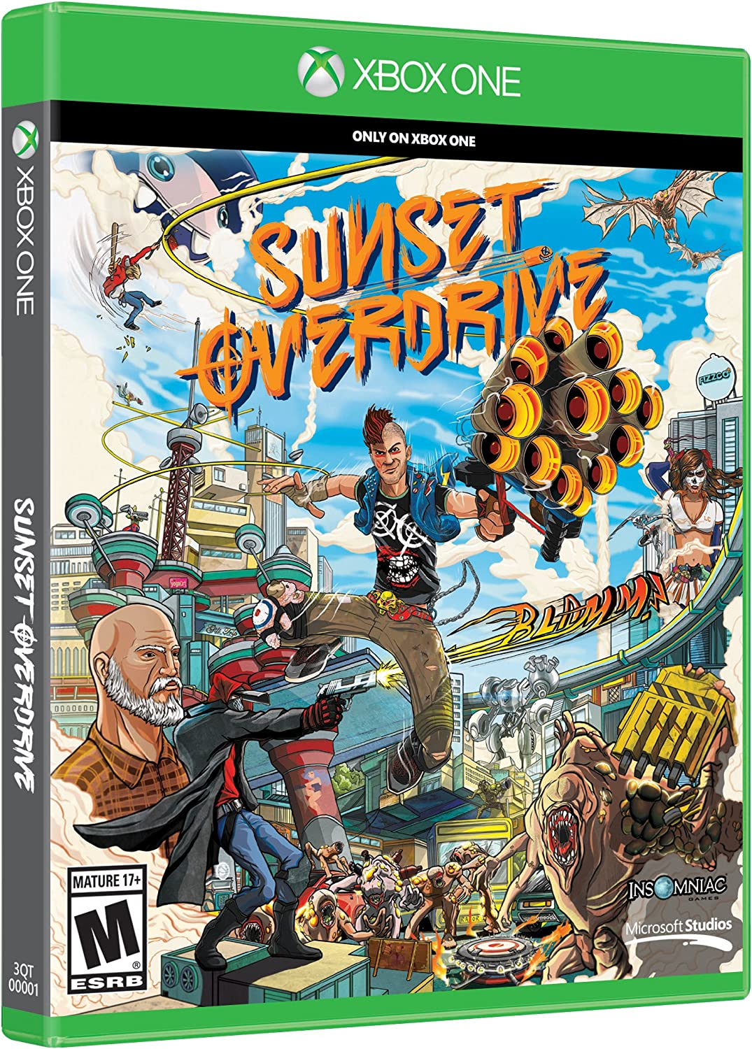 Sunset Overdrive Standard Edition (輸入版:北米): Amazon.es ...