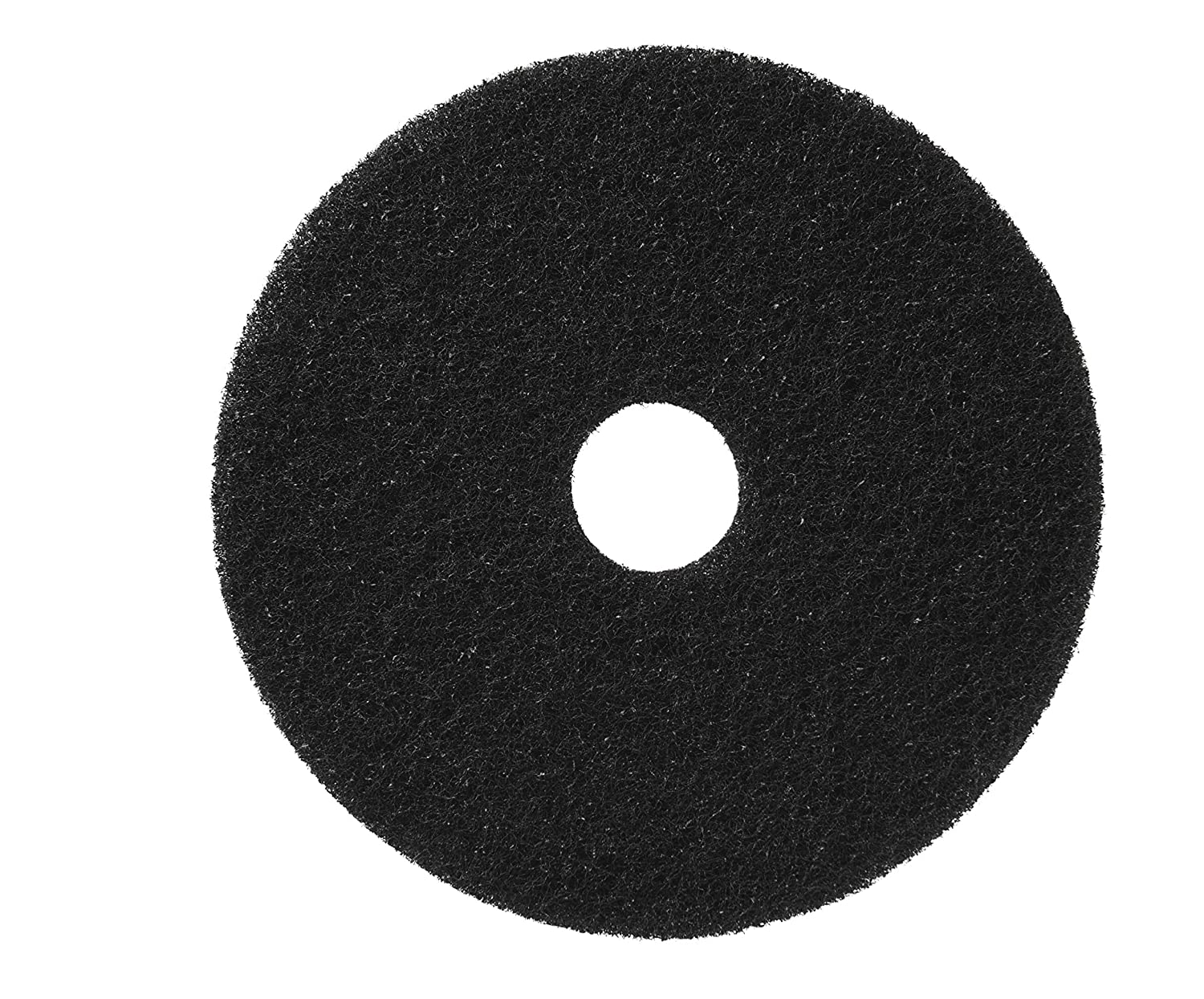 Americo Manufacturing 40011432 Standard Black Stripping Floor Pads Rectangle (5 Pack), 14' x 32'