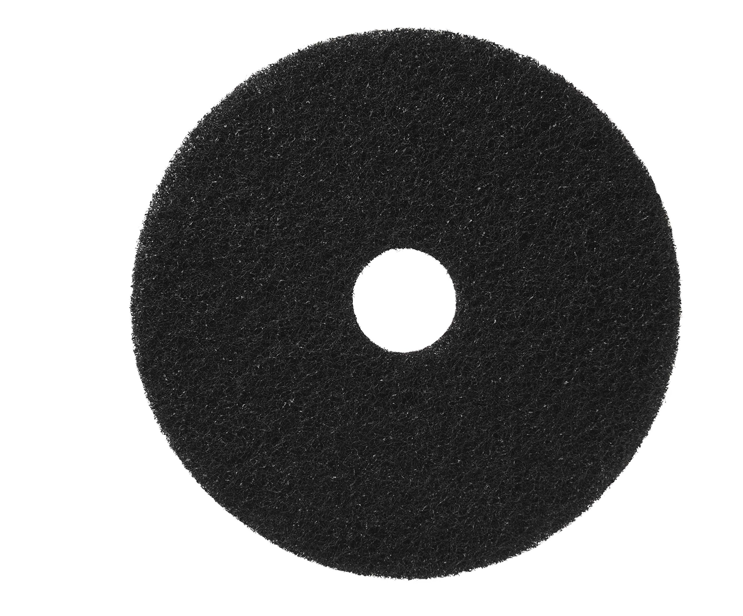 Glit/Microtron 400117 Standard Strip Pad, 17'', Black (Pack of 5) by Glit / Microtron