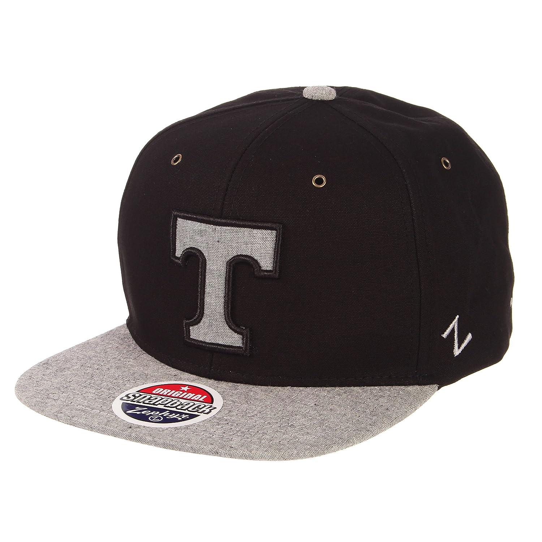 Black//Grey Zephyr Mens Boss Snapback Hat Adjustable