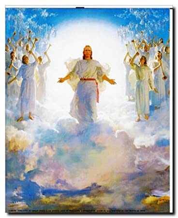 Amazon second coming of jesus christ wall decor picture art second coming of jesus christ wall decor picture art print 8x10 thecheapjerseys Choice Image