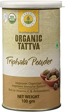 Organic Tattva Triphala Powder, 100g