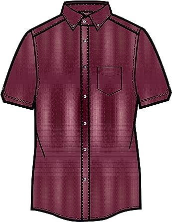 Ben Sherman - Camisa Casual - Liso - para Hombre Rosa Rosa (b) Medium: Amazon.es: Ropa y accesorios