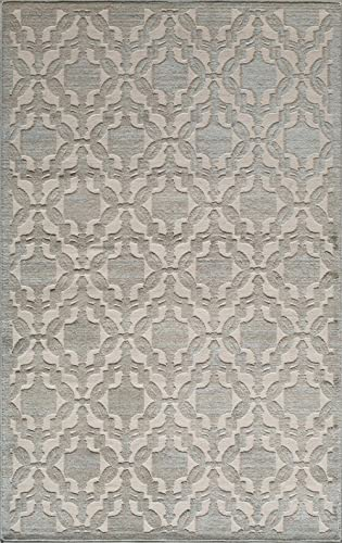 Rugs America Area Rug, 8-ft 0-in x 10-ft 0-in, Light Blue