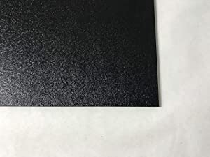 """ABS Black Plastic Sheet 1/16"""" x 48"""" x 96"""" Textured 1 Side Vacuum Forming"""