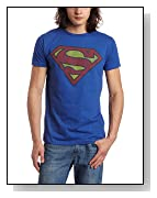 Bioworld Men's Superman Logo Tee