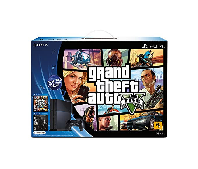 Playstation 4 Black Friday Bundle Grand Theft Auto V And