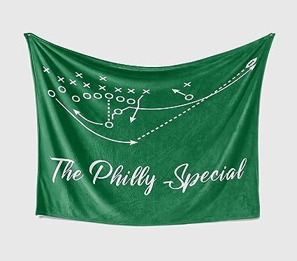 info for a2e63 b8b1c Amazon.com : Personalized Corner Philadelphia Eagles Fleece ...