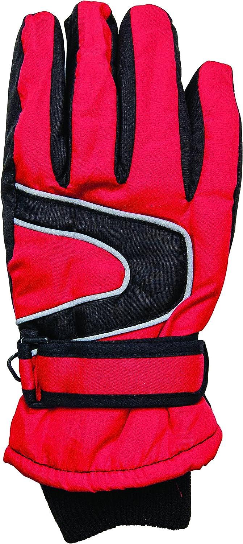 Handschuhe für Mädchen Skihandschuhe Fingerhandschuhe, Größe 7,5 und 8, Handumfang 20 cm und 22 cm, verschiedene Farben