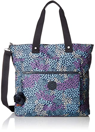 578af6fc7b9 Amazon.com: Kipling Lizzie Printed Laptop Tote Bag, Dotted Bouquet ...