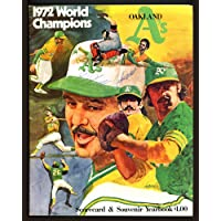 $27 » Oakland A's Autographed 1973 Yearbook Program With 3 Total Signatures SKU #162934 - Autographed MLB Magazines