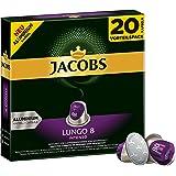 Jacobs Kapseln Lungo Intenso, Intensität 8, Nespresso®* kompatible Kaffeekapseln, 10er Pack (10 x 104 g)